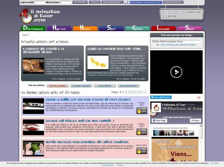 5minutesatuer.com