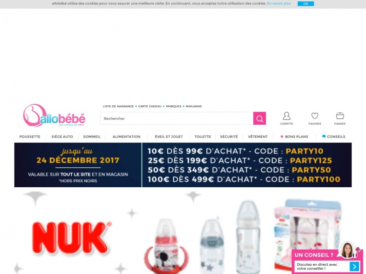 Allobébé : la boutique en ligne de bébé