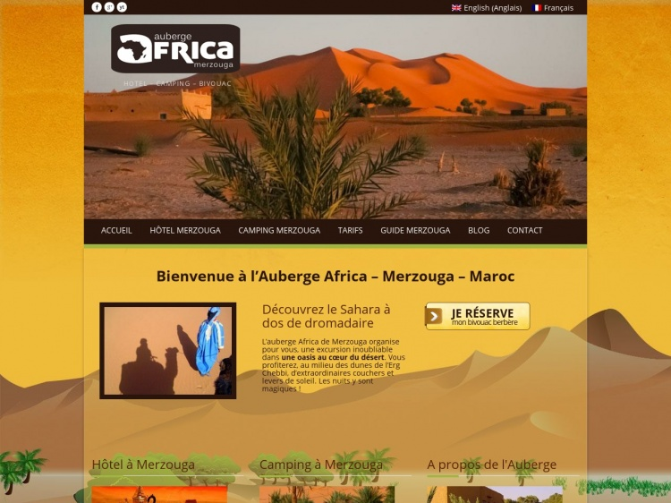 Auberge Africa, pour votre voyage au Maroc