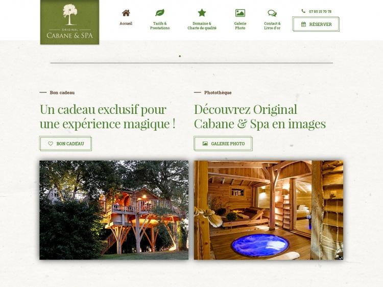 Ecotourisme Cabane & Spa