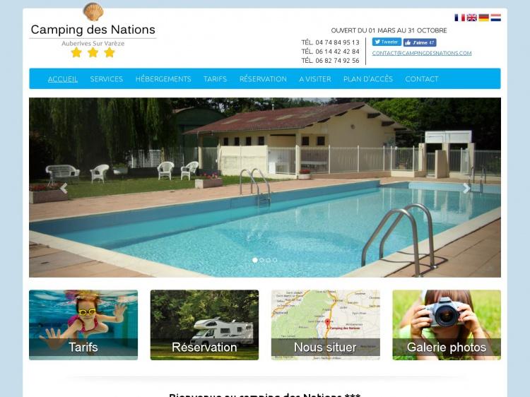 campingdesnations.com