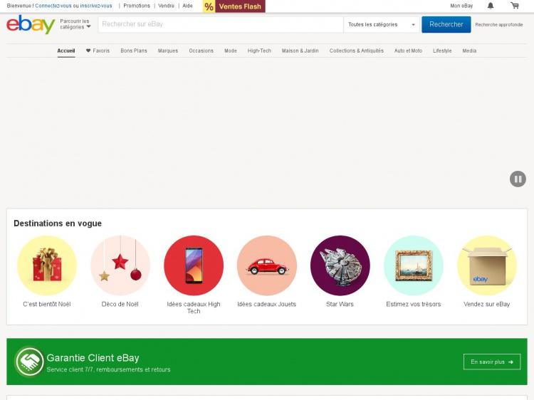 Ebay : Vendre aux enchères sur internet