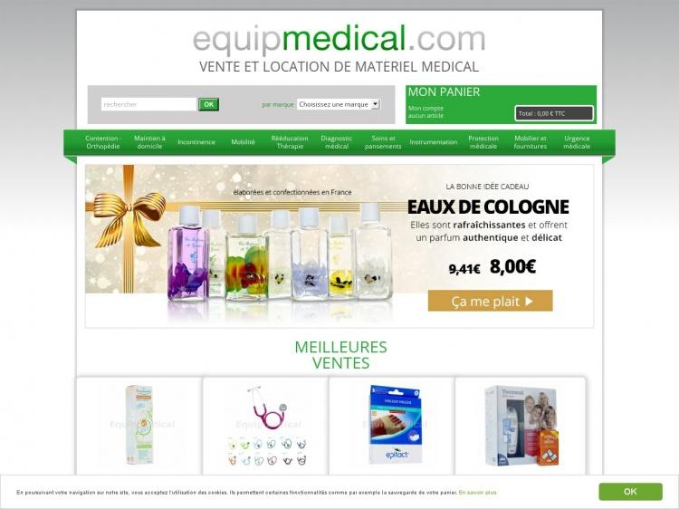 Equipmedical : vente et location de matériel médical