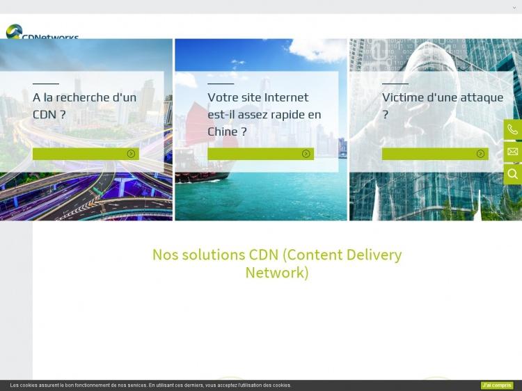 CDNetworks : Au service de vos sites et boutiques Web