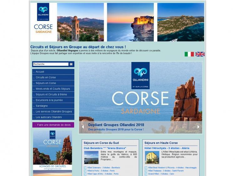 Groupencorse.com : séjour en groupe sur l'Île de Beauté