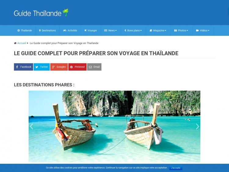 Guide Thaïlande : tout savoir sur le royaume de Siam