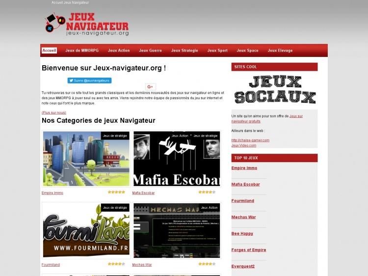 Meilleurs jeux sur navigateur online : Jeux-navigateur.org