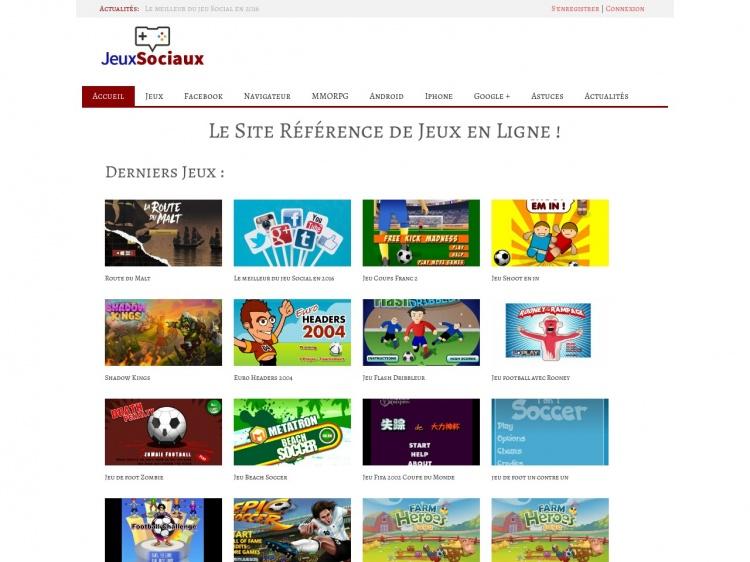 Jeux-Sociaux.org, site de social gaming