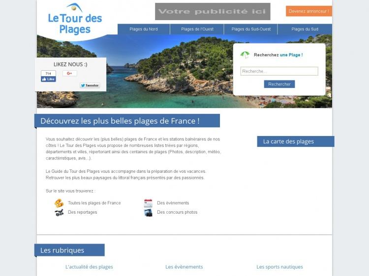 Le Tour des Plages : le guide des plus belles plages