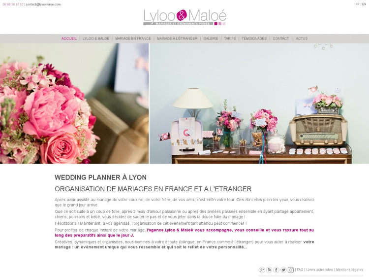 Organisation de mariages : Lyloo & Maloe