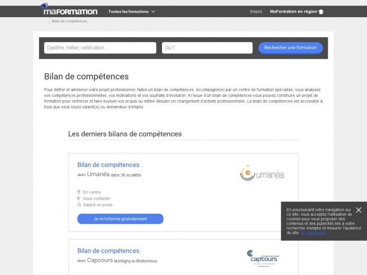 Faire un bilan professionnel : Mes Competences .fr