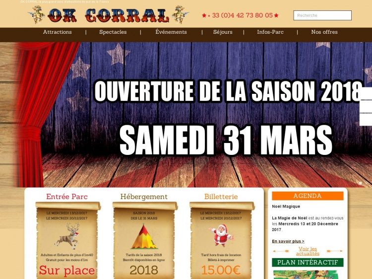 OK Corral, parc d'attraction à Marseille
