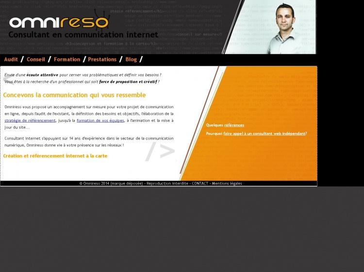 Omnireso, consultant internet indépendant