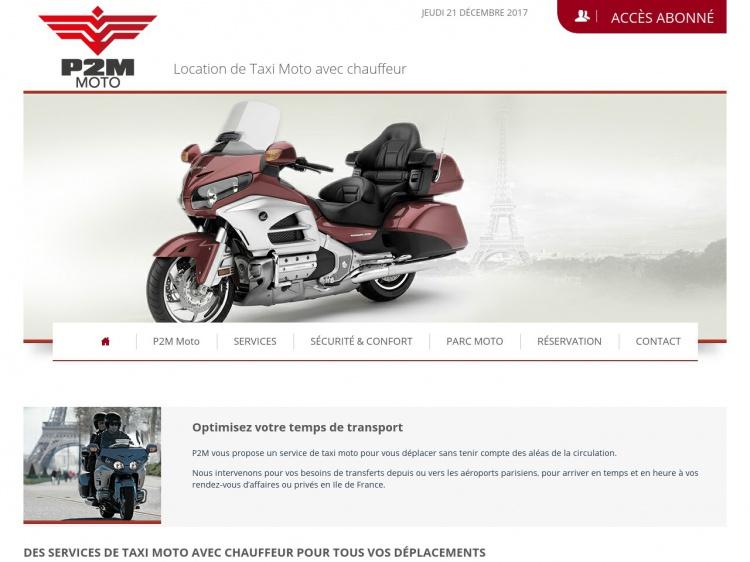 P2M Moto : vos déplacements à moto