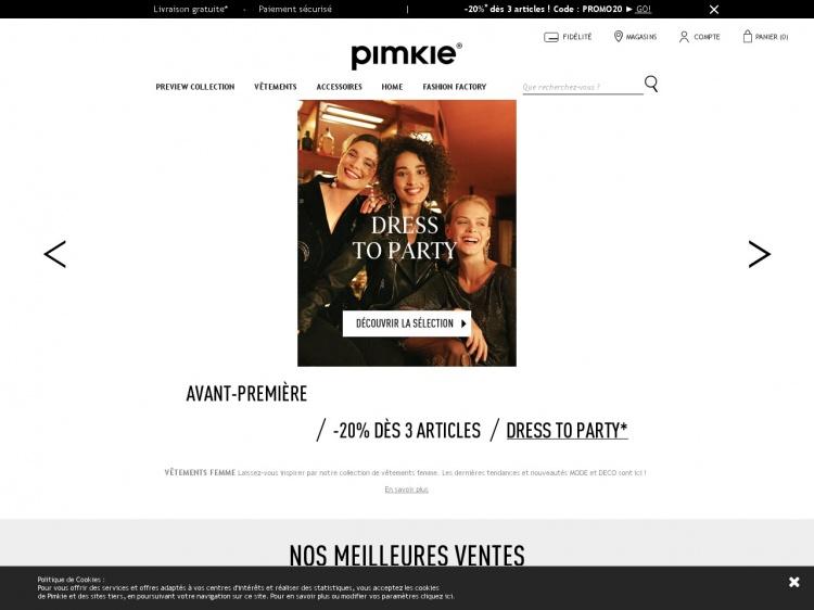 Achat de vêtements de mode en ligne : Pimkie.fr