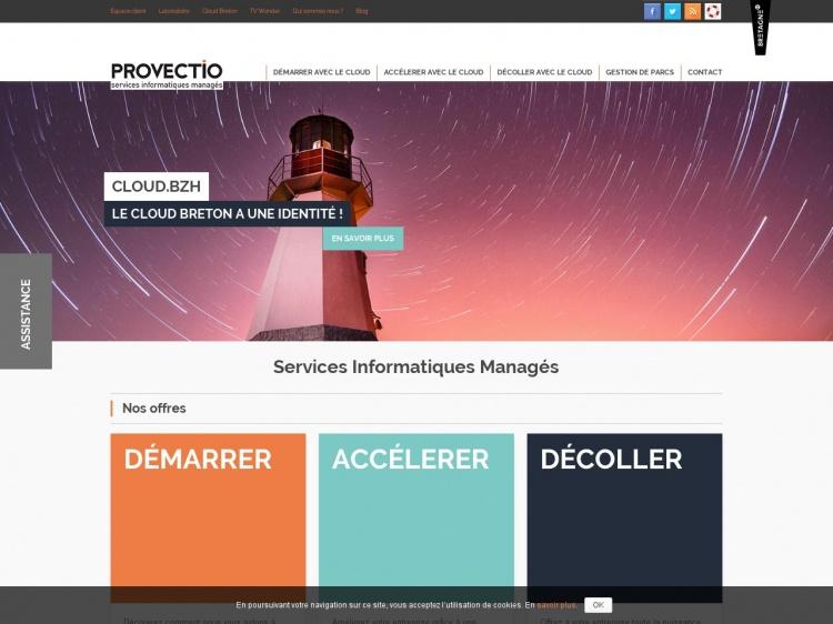 Provectio : Gestion des systèmes informatiques en entreprise