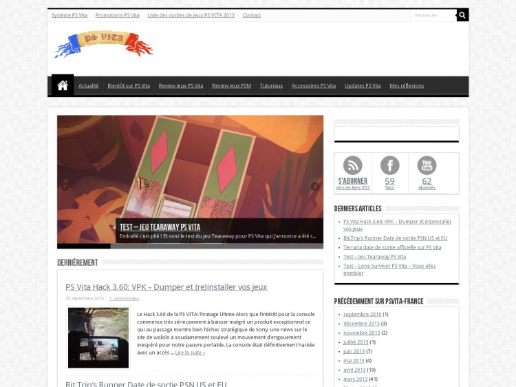 Psvita-France.com : Blog consacré à la PS Vita
