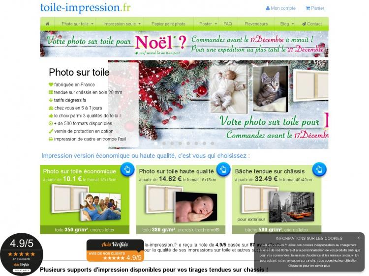 Toile-impression.fr : Pour des tableaux photos uniques