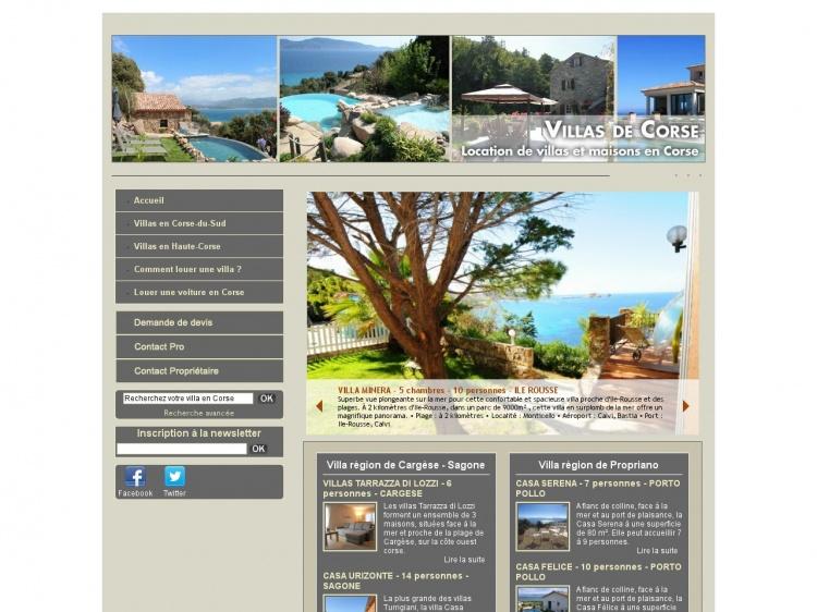 Villas-de-Corse.com : séjour de luxe en Corse
