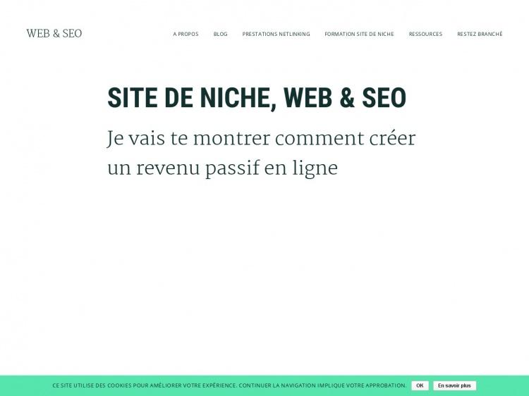 Web & SEO : un blog pour webmasters et référenceurs